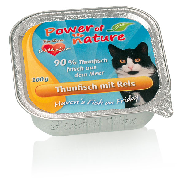 Power of Nature Haven's Fish on Friday Thunfisch mit Reis 32 x 100g